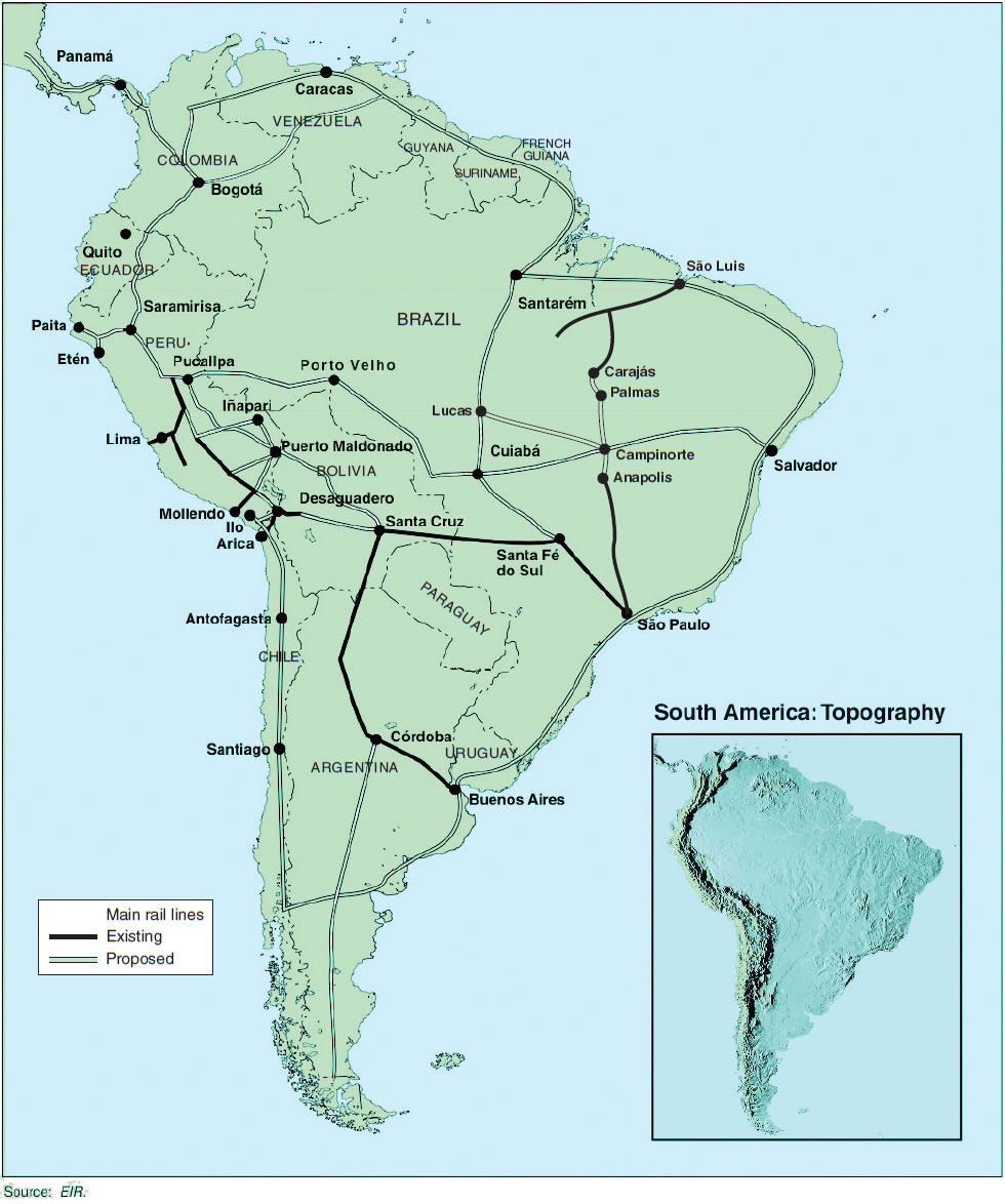 The Fight Is On for South American Bioceanic Railway