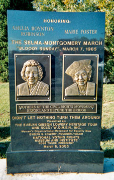 Amelia monument in Selma